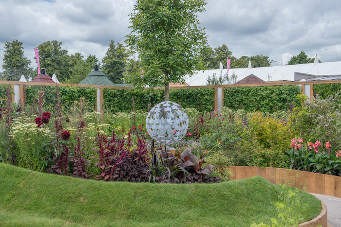 Witan Investment Trust PLC Global Growth Garden Hampton Court Flower Show 2016