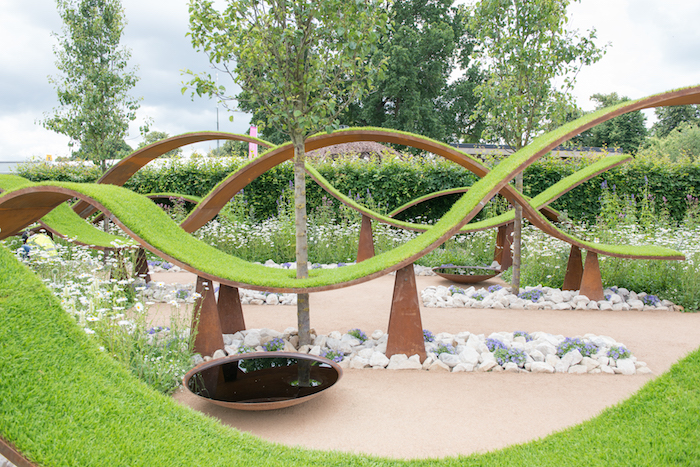 The World Vision Garden RHS Hampton Court Flower Show 2016