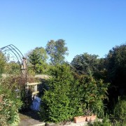 Railton Cottage view across arch to meadow (18/11/2012) Added by Jenny Cox
