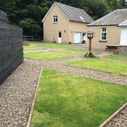 Courtyard garden, before the re-design Added by Belinda Macdonald, Shades of Green