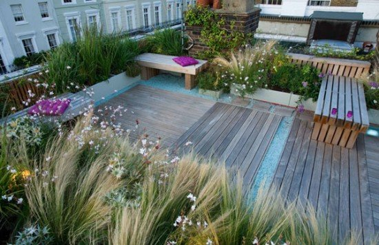 Roof Garden In Holland Park Shoot