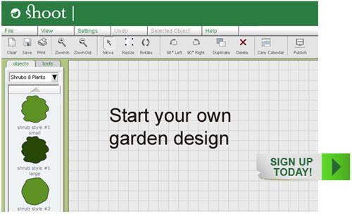 Design 'My Garden' Tool - Shoot