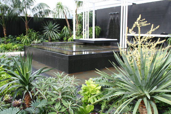 The canary islands spa garden - chelsea flower show 2009