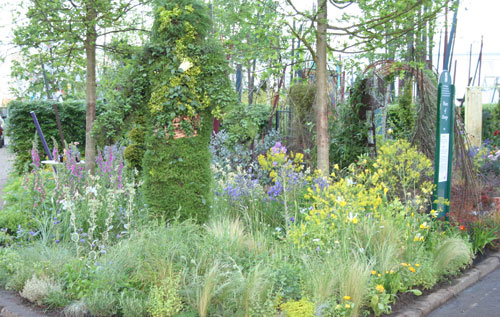 Places of change garden Chelsea Flower Show 2010
