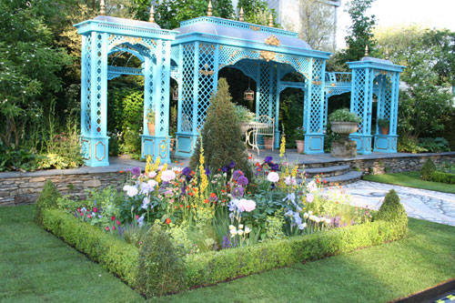 The Victorian Aviary Garden Chelsea Flower Show 2010