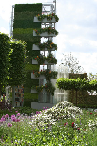 The B&Q Garden by garden designers Laurie Chetwood and Patrick Collins Chelsea Flower Show 2011