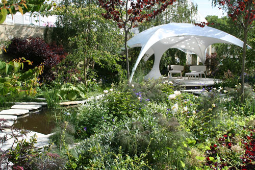 Trailfinders Australian Garden by Flemings Nurseries by garden designer Ian Barker Chelsea Flower Show 2011
