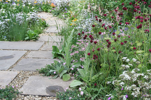 The HESCO Garden by Leeds City Council, Parks and Countryside Chelsea Flower Show 2011