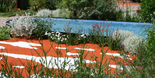 The Australian Garden by The Royal Botanic Gardens Melbourne by garden designer Jim Fogerty Chelsea Flower Show 2011