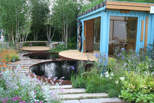 Wild Backyard Ideas :  Bank of Canada  The RBC New Wild Garden Chelsea Flower Show 2011