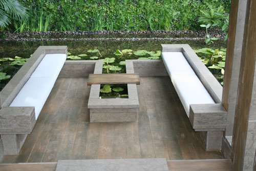 The Tourism Malaysia Garden Chelsea Flower Show 2011 designed by David Cubero and James Wong