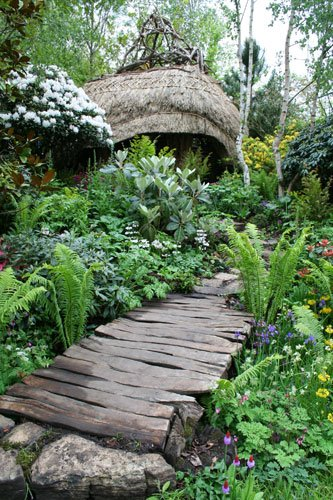 Garden Design: Garden Design With Woodland Shade Garden Designs