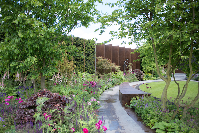 Qatari Diar - The Chelsea Barracks Garden RHS Chelsea Flower Show 2016
