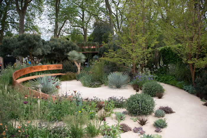 The Winton Beauty of Mathematics Garden RHS Chelsea Flower Show 2016