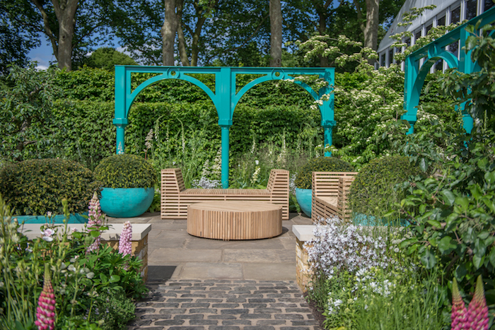 500 years of Covent Garden Designed By garden designer Lee Bestall