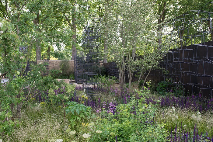 Breaking Ground Garden by Andrew Wilson and Gavin McWilliam of the Wilson McWilliam Studio