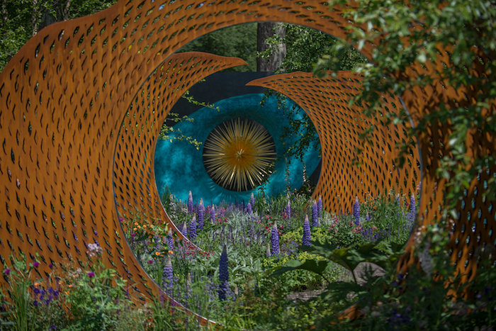 The David Harber and Savills Garden Chelsea Flower Show 2018 landscape and garden designer Nic Howard