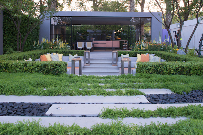 LG Eco-City Garden Chelsea Flower Show 2018 by London based landscape architect Hay Joung Hwang
