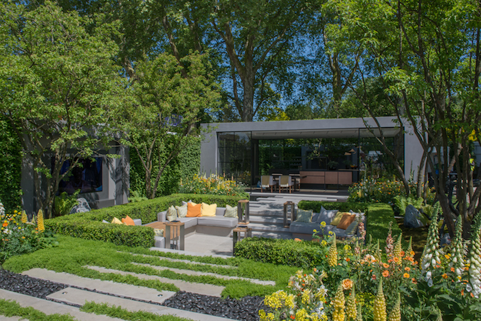 LG Eco-City Garden Chelsea Flower Show 2018 by London based landscape architect Hay Joung Hwan