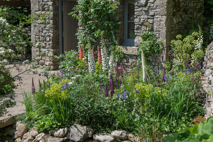 The Welcome to Yorkshire Garden Chelsea Flower Show 2018 by garden designer and landscaper Mark Gregory