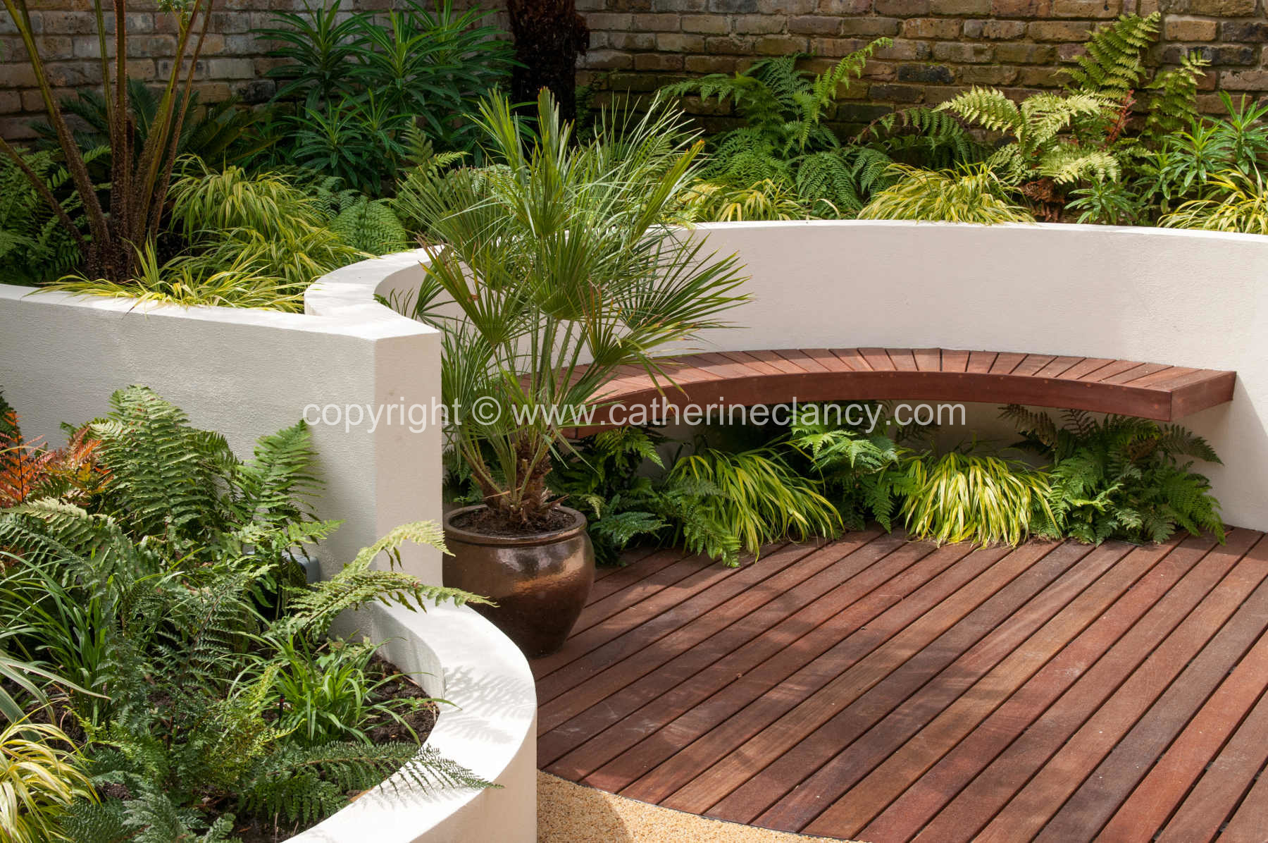 Blackheath Courtyard Garden by Garden Designer Catherine Clancy