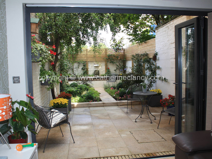 Chill out garden by Blackheath based garden designer Catherine Clancy MSGD