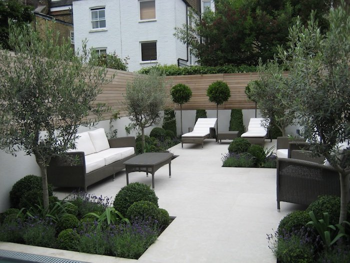 South London Garden by West Sussex garden designer Christine Fowler