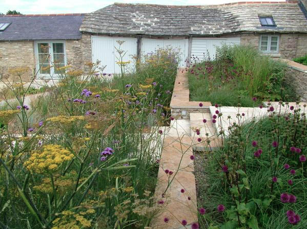 Dorset Large Country Garden by Helen Elks Smith Garden design