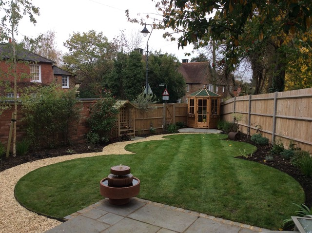 Shenley Garden Designed by Gillie Leaf Garden Design