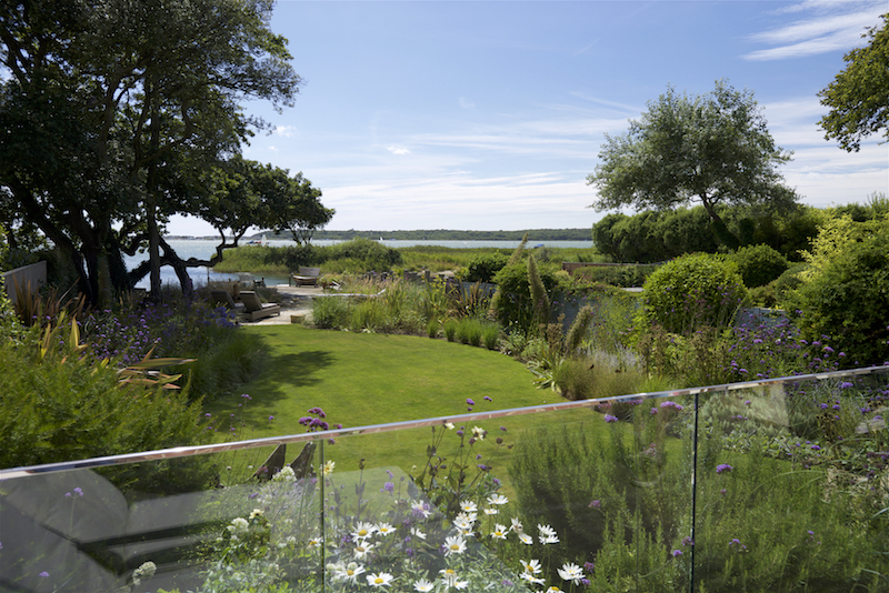 Coastal Garden Design in Dorset by garden designer Helen Elks-Smith MSGD