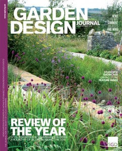 Large Contemporary Country Garden Design in Dorset by garden designer Helen Elks-Smith MSGD
