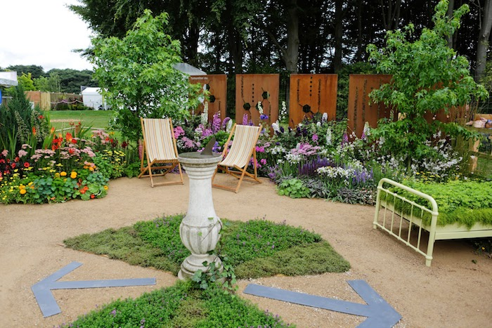 Mid Cheshire Hospitals Charity 'Remember Me' Garden for RHS Flower Show Tatton Park 2017 By Cheshire based garden designer Jane Bingham