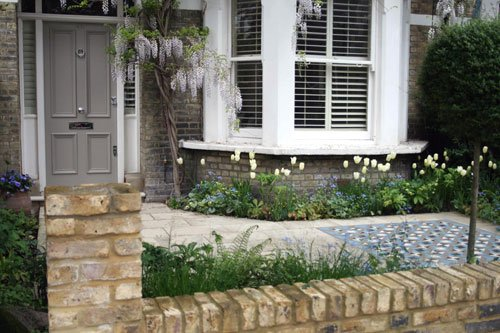 London front garden shoot for Front garden designs uk