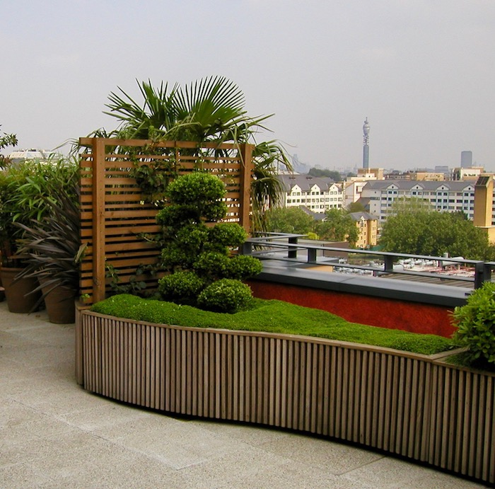 How to Design the Perfect Roof Garden by John Wyer at Bowles & Wyer