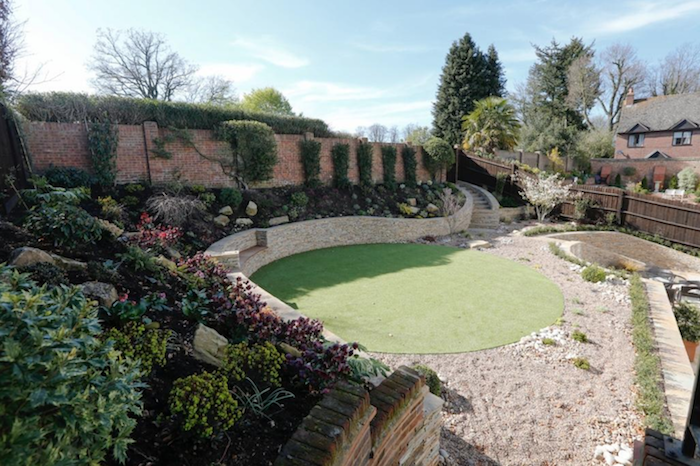 Beautiful Walled Country Garden Designed by Judy Shardlow