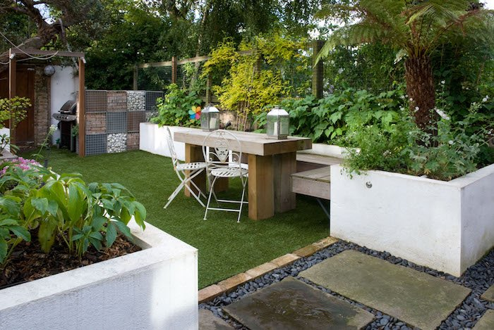 family garden design in hackney east london shoot