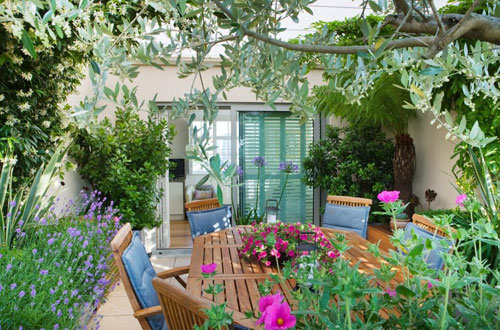 French courtyard gardens home ideas 2016 for French style courtyard ideas