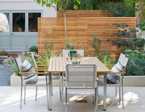 Outdoor room garden by Olivebay