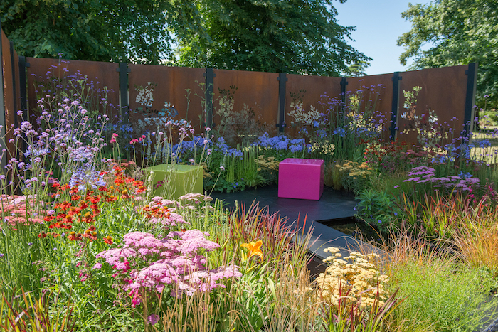 Colour Box Garden By garden designer Charlie Bloom