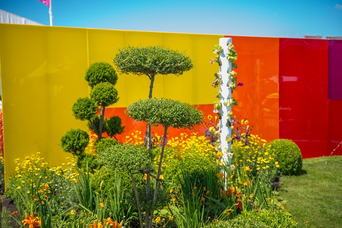 """""""The Journey of Life"""" garden marks the birth of a new style of garden design """"Poetic Gardens"""", as identified by landscape designer and 2015 gold medal winner, Edward Mairis."""