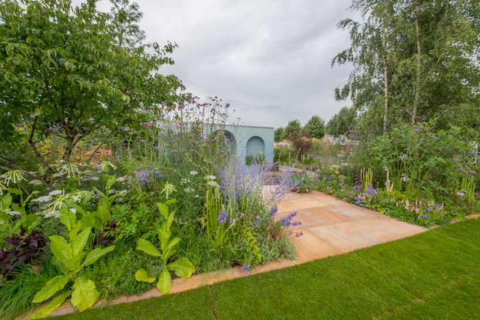 Viking Cruises World of Discovery Garden designed by garden designer Paul Hervey-Brookes