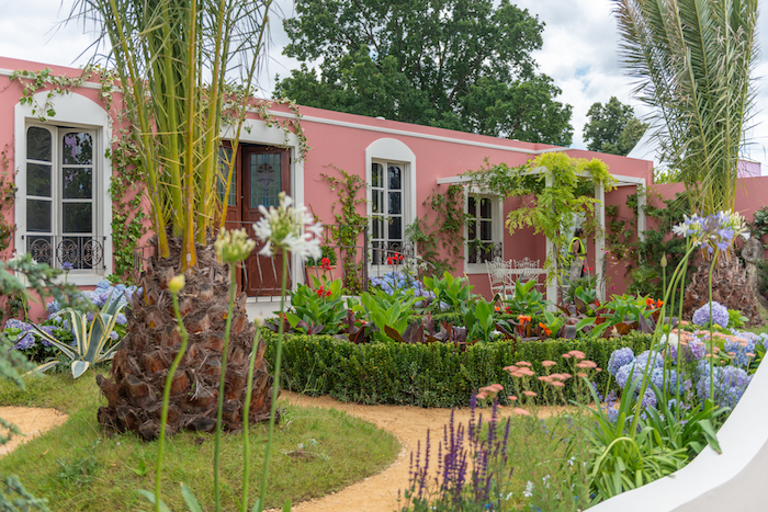 The Dream of the Indianos Garden Hampton Court Flower Show 2019 designed by Rose McMonigall
