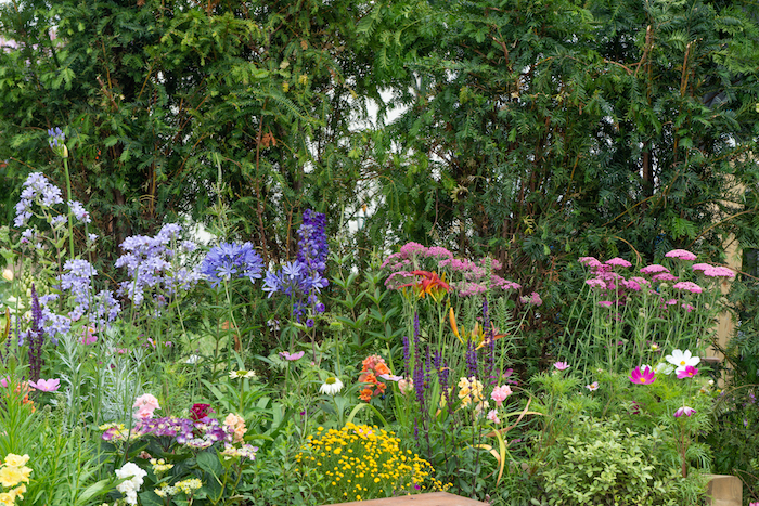 Southend Young Offenders ' A Place to Think' Garden RHS Hampton Court Flower Show 2019 by Garden Designer Tony Wagstaff