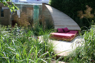 The trailfinders recycled garden
