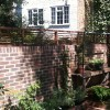 small urban walled garden: controlled chaos in central london