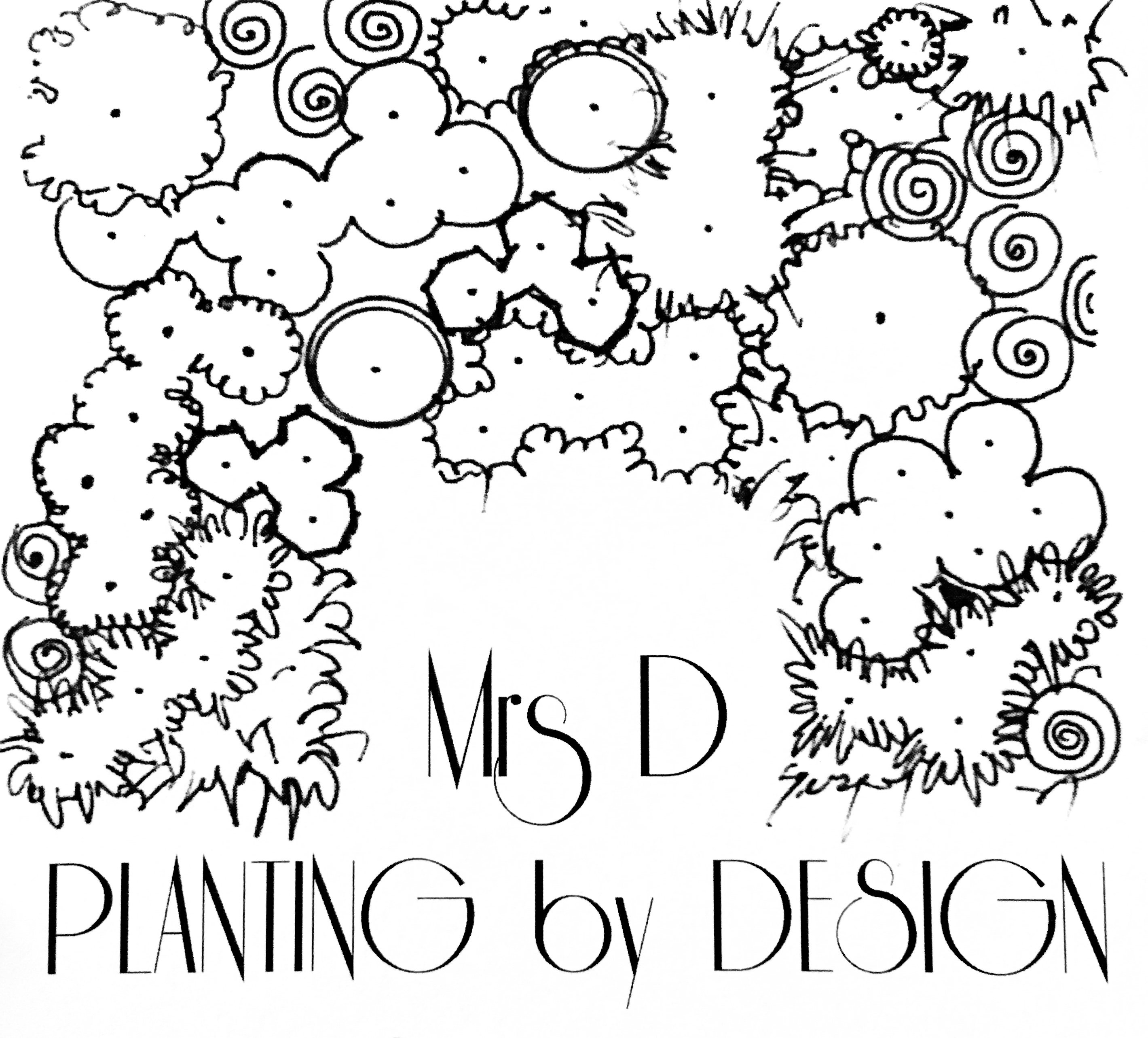 Mrs D Planting by Design