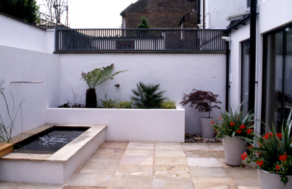 London courtyard garden catherine heatherington